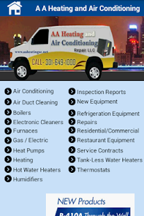 AA Heating & Air Conditioning- screenshot thumbnail