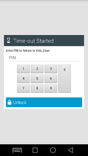 13 Kids Zone Parental Controls App screenshot