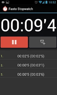 Fasto Stopwatch- screenshot thumbnail