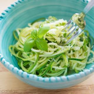 Zucchini Noodles Aglio e Olio