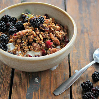 Sprouted Buckwheat Granola