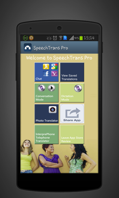 SpeechTrans Ultimate by Nuance - screenshot