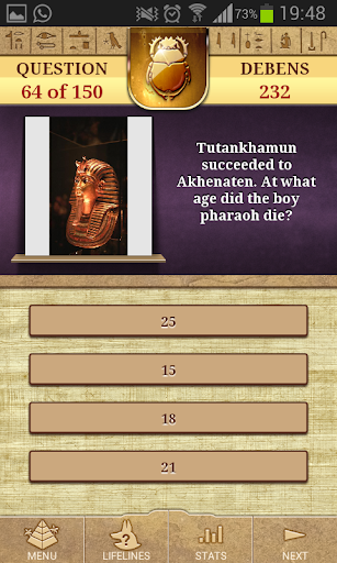 Quiz Ancient Egypt Lite