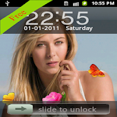 Maria Sharapova Locker