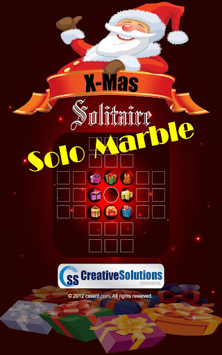 XMas Solitaire - Solo Marble