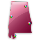 Alabama Fishing Maps - 12,000 icon