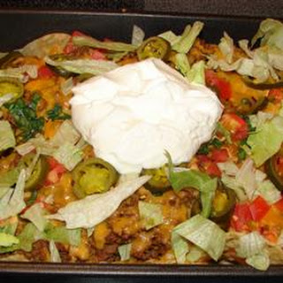 Turkey Nacho Bake