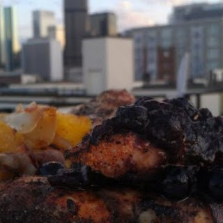 Paleo Blueberry Maple BBQ Chicken