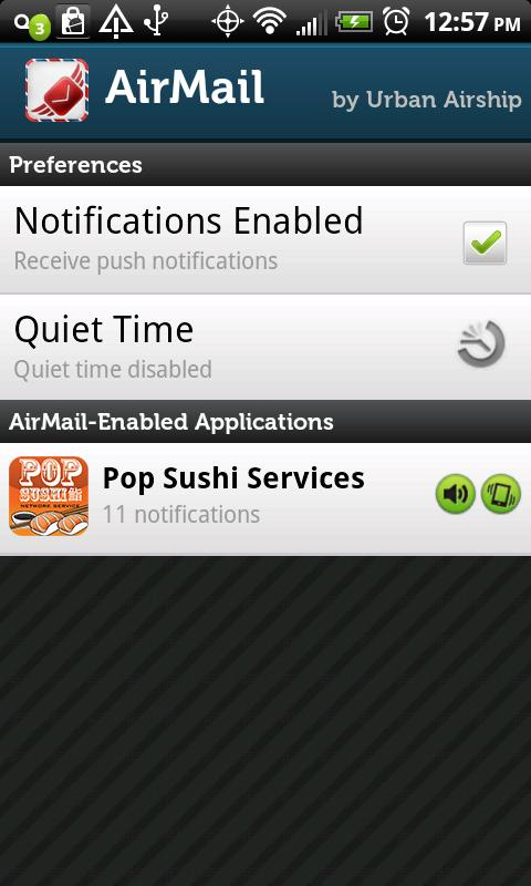 Pop Sushi Net Services Beta- screenshot