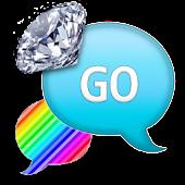 GO SMS - RainbowDiamondStripes