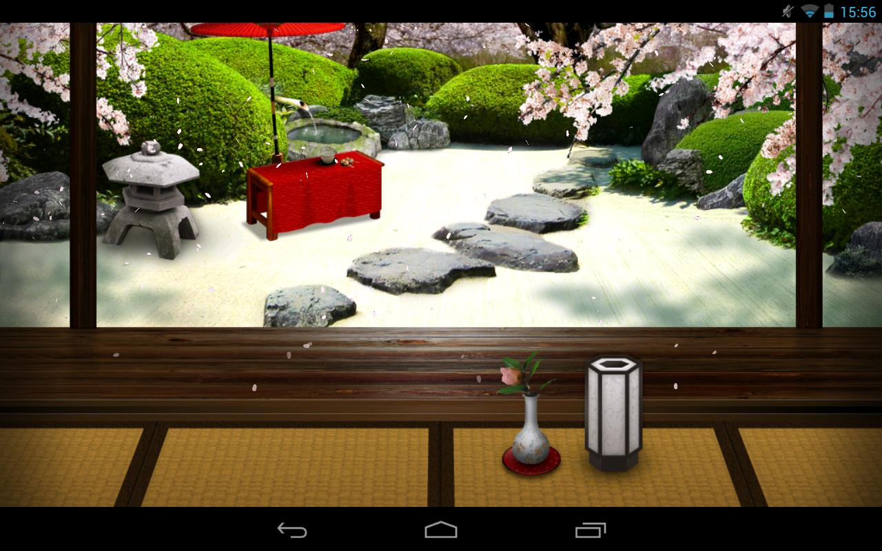 Zen Garden -Spring- LWallpaper - screenshot