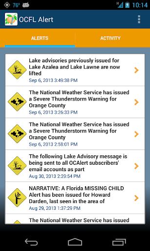 OCFL Alert