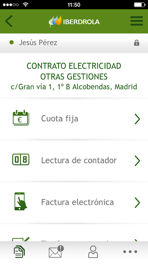 IBERDROLA Clientes- screenshot