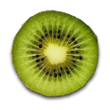 Fruit Clock Kiwi Widget icon