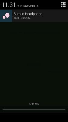 Burn-In Headphone - screenshot