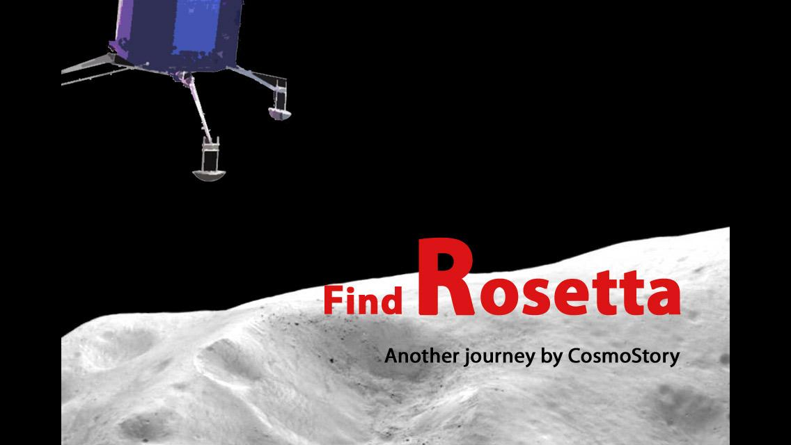 Find Rosetta / Churyumov- screenshot