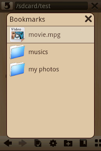Wood File Manager - screenshot thumbnail