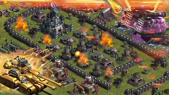 พายุสีแดง--MMO วางแผนการรบ - screenshot thumbnail