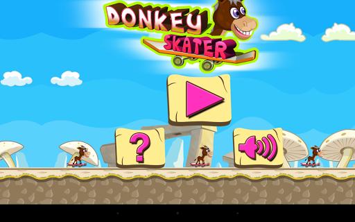 Donkey Skater - level based