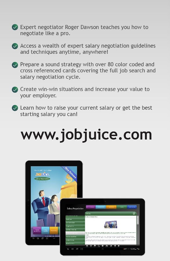Salary Negotiation Jobjuice- screenshot