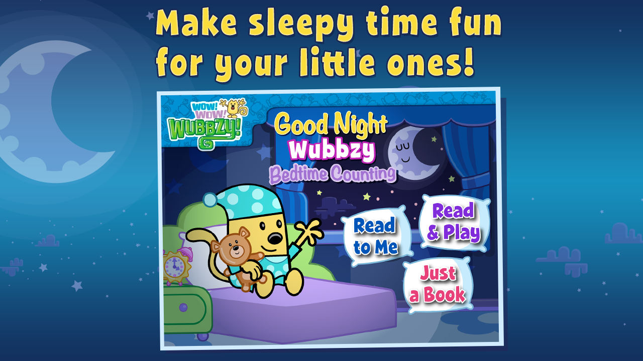 Good night wubbzy counting android apps on google play