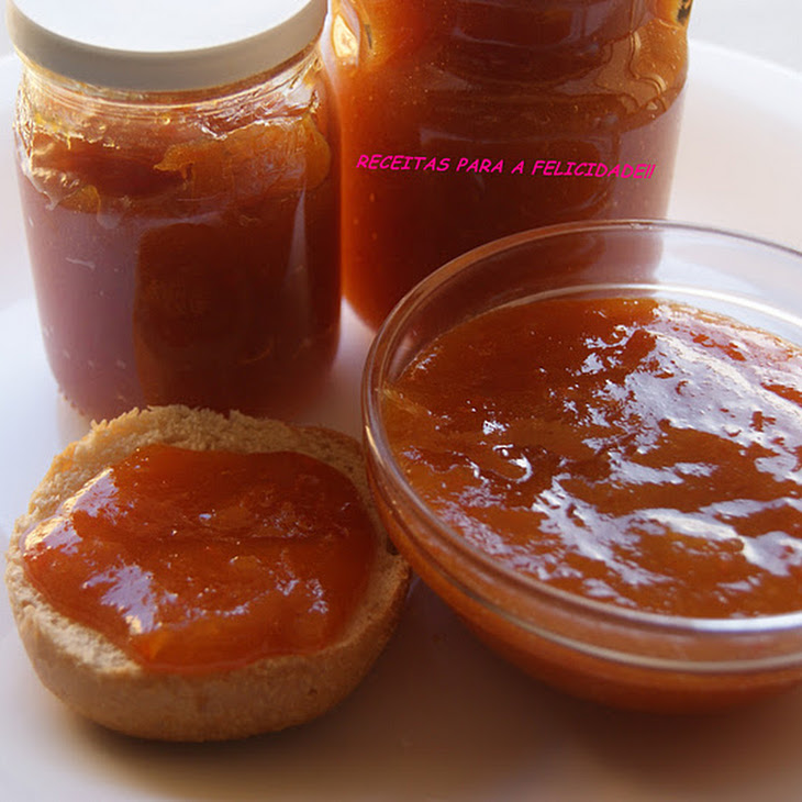 Orange Compote with Apple and Carrot