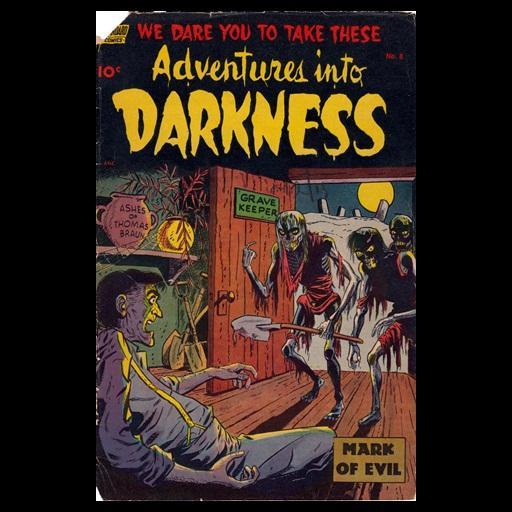 Adventures Into Darkness # 8 漫畫 App LOGO-APP試玩