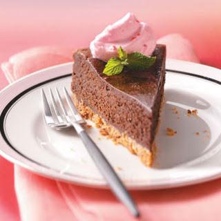 Truffle Cake with Candy Cane Cream Recipe