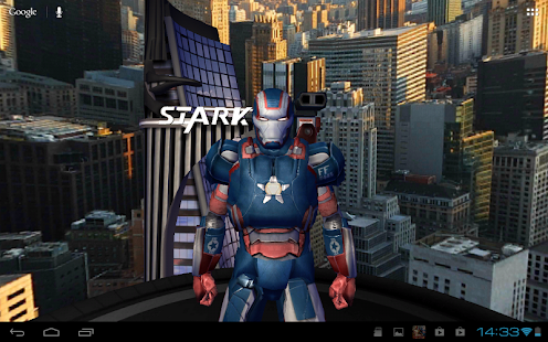 [Iron Man 3 Live Wallpaper] Screenshot 2