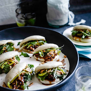 Gua Bao With Braised Pork Ribs.