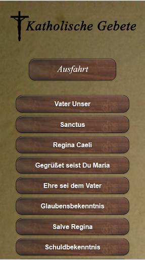 Catholic prayers in German