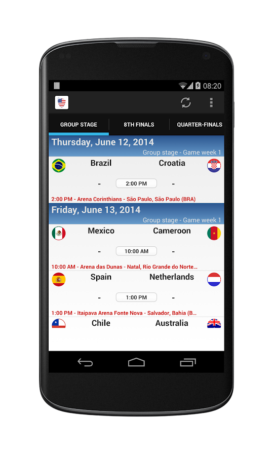 World Cup 2014 - Team USA - screenshot