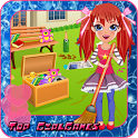 Alice messy house clean up icon