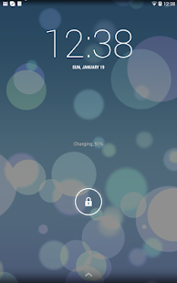 Dynamic Glow iOS 7 Wallpaper