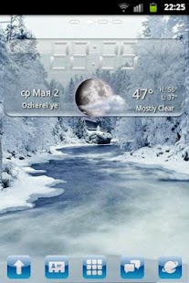 winter go EX theme - screenshot thumbnail