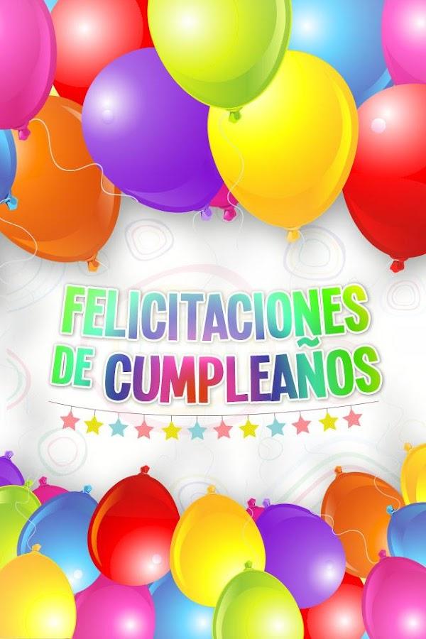 Felicitaciones de cumplea os android apps on google play - Feliz cumpleanos en catalan ...