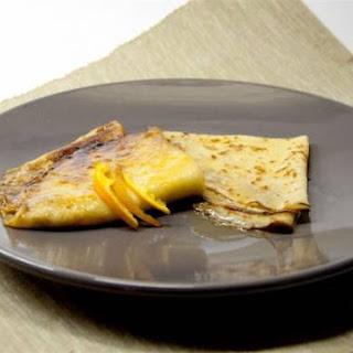 Crêpes Suzette (pannenkoekjes met sinaasappelsaus)