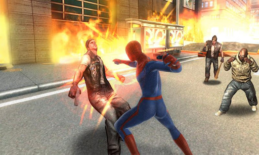 descargar apk y sd the amazing spider man v1.0.8 android