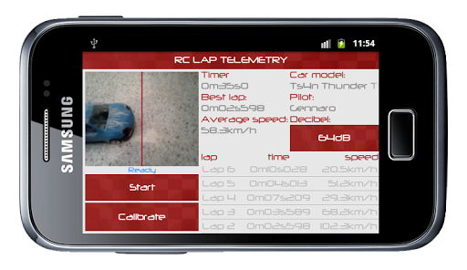 RC Lap Telemetry