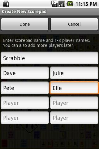 Super Scorepad Lite- screenshot