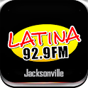 Latina 92.9 FM logo