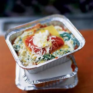 Sweet Leek, Ricotta & Tomato Lasagne
