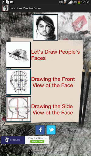 Lets Draw Peoples Faces