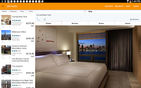 HotelPlanner Deals for Tonight- screenshot thumbnail