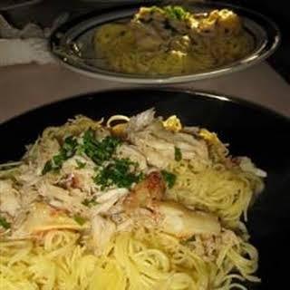 Astoria Crab Pasta.