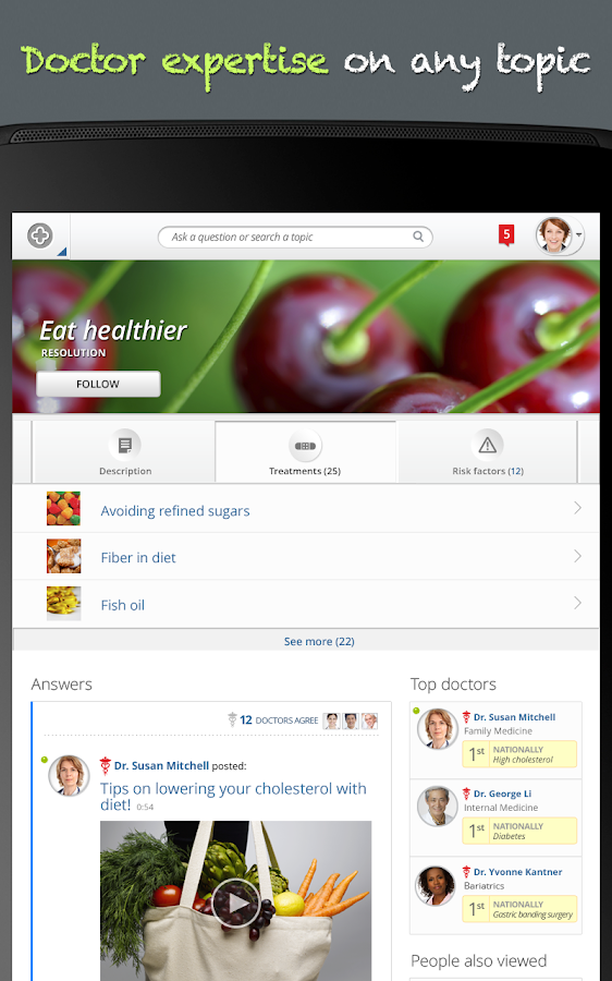 HealthTap - screenshot