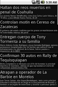 Newspapers from Mexico screenshot 1
