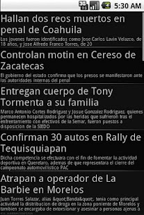 Newspapers from Mexico - screenshot thumbnail