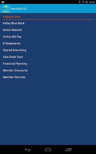 【免費財經App】GeoVista Credit Union Mobile-APP點子