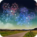 Fireworks HD Live Wallpaper icon